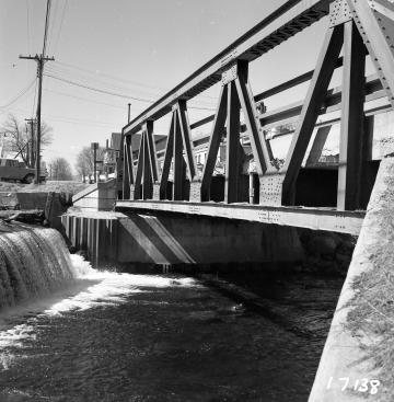 Bridge #217 with Waterfall