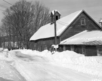 Barns on Snowy Highway