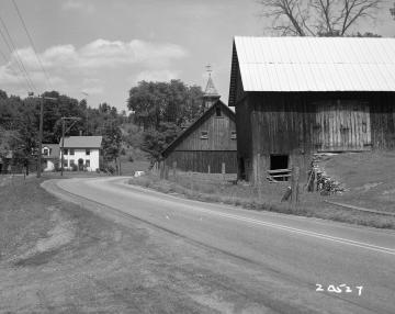 Palmer Property, Barns