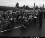Band at Opening Ceremonies in Newbury of I-91