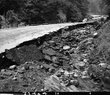 Flood Damage to Road