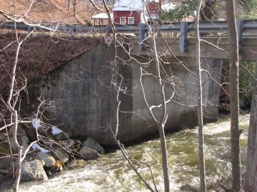 1978 concrete bridge, Brown's River