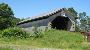 Hopkins Covered Bridge