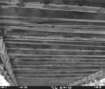 Bottom of Wooden Bridge