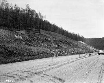 Slope by Road Construction