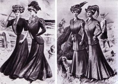 Women's Clothing - 1900s - Clothing - Dating - Landscape Change ...