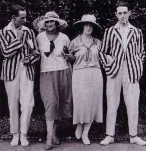 1920s Sporting Attire: Image courtesy of Valerie Mendes and Amy de la