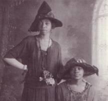 1920s Floppy Hats: Image courtesy of Jenna Weissman Joselit, A