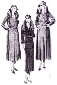 Women's Fashion Accessories - 1930s - Clothing - Dating - Landscape