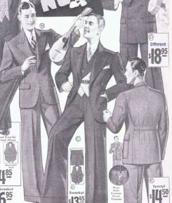 Men's Fashions - 1930s - Clothing - Dating - Landscape