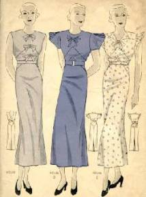 1930s short sleeves image courtesy of glamour image courtesy of
