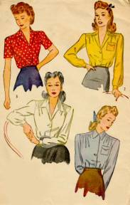 1940's Designer Clothing For Women Late s Fashion Plates of