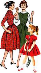 1950s Girls' Dress