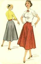 1950s Blouses