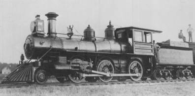 steam powered 1880s 1900s engines railroads dating