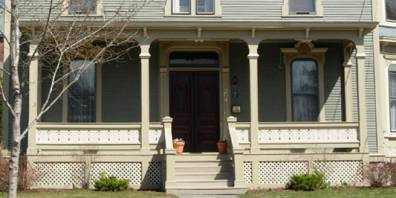 Italianate And French Second Empire Porches