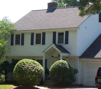 Post Midieval English Colonial Revival Architectural