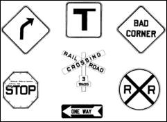 Traffic Signs To ColorSignsPrintable Coloring Pages Free Download