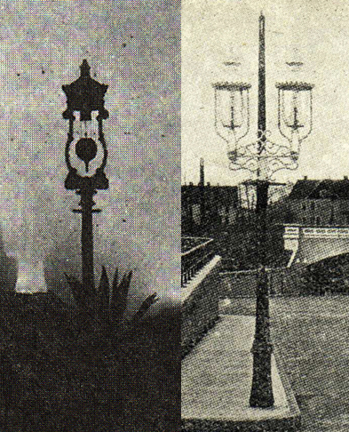 Early Arc Lights Street Lighting Dating Landscape